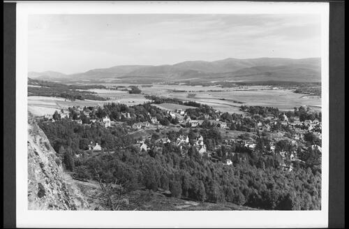 The Spey Valley and Creag Dubh from Kingussie