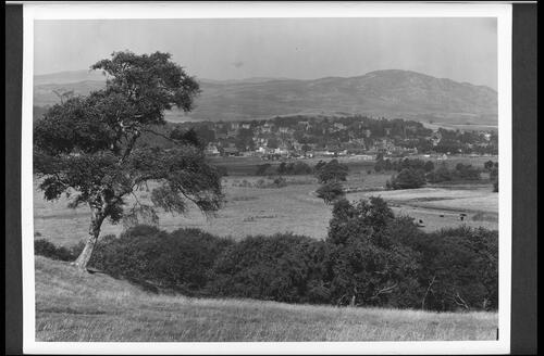 Kingussie and the River Spey.
