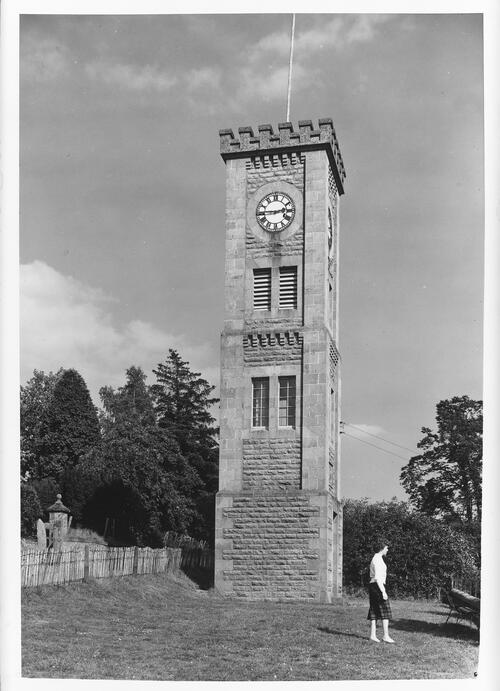 The Clock Tower, Kingussie.