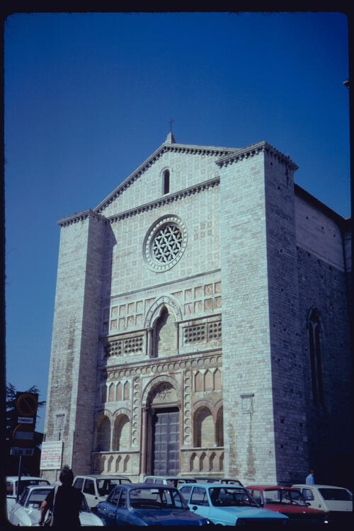 The Church of San Francesco al Prato, Perugia, Italy.
