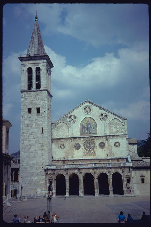 Cathedral, Spoleto, Italy.
