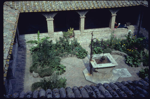 San Damiano Cloister, Assisi, Italy.