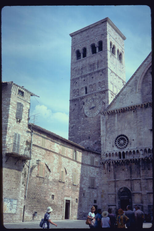 Duomo, Assisi, Italy.