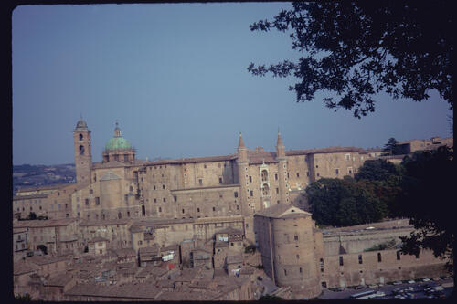 The Ducal Palace, Urbino, Italy.