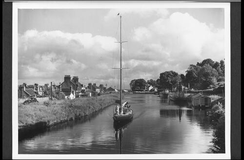 The Crinan Canal at Ardrishaig.