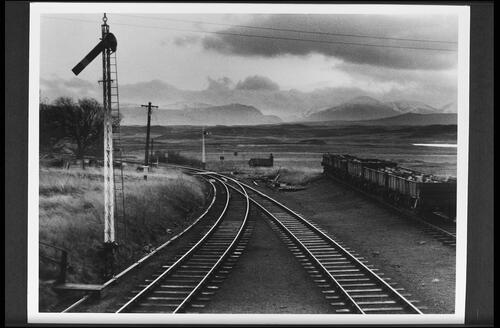 Lonely site of Rannoch Station.