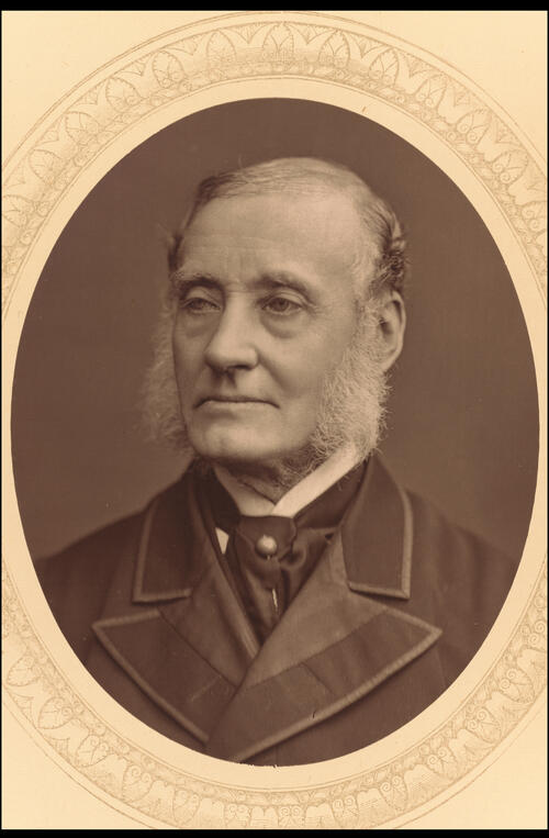 Sir Rutherford Alcock.