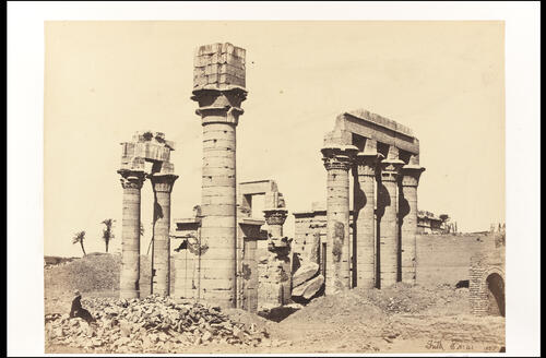 Cleopatra's Temple at Erment.