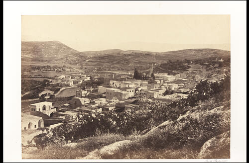 Nazareth, from the North-West.