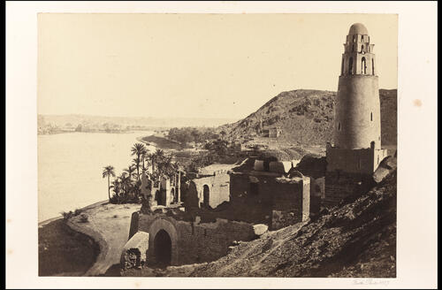 Ruined Mosque near Philae.
