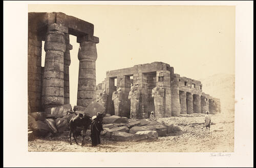 The Memnomium, Thebes.