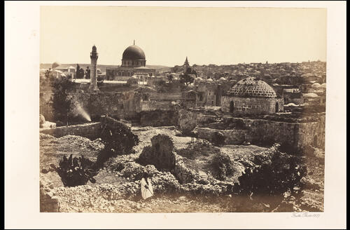 Jerusalem from the City Wall.