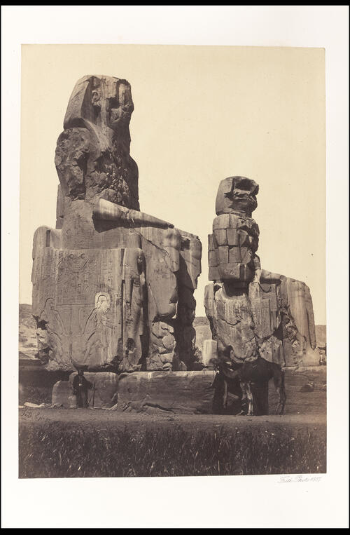 The Statues of Memnon.