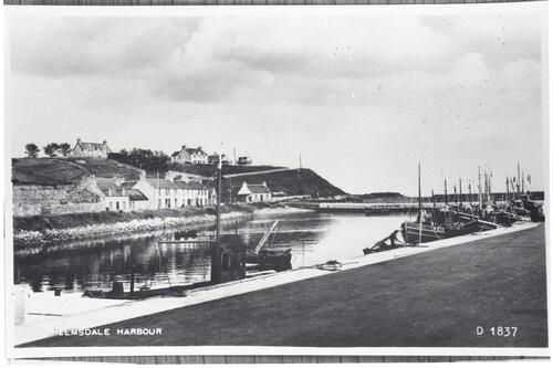 Helmsdale Harbour.