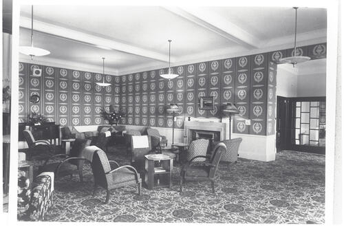 The Lounge, Cluny Hill Hotel, Forres.
