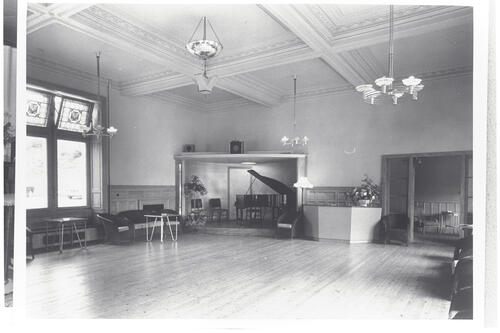 The Ballroom, Cluny Hill Hotel, Forres.