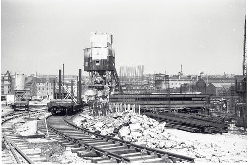 Concrete mixing Plant, Tay Road Bridge.