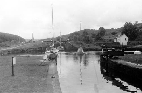 On Crinan Canal.