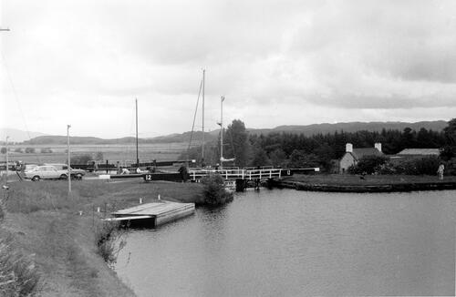 Lock 12 on Crinan Canal.