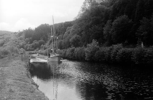 Approaching Bellanoch on Crinan.