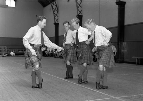 Highland Dance Class, St Andrews.