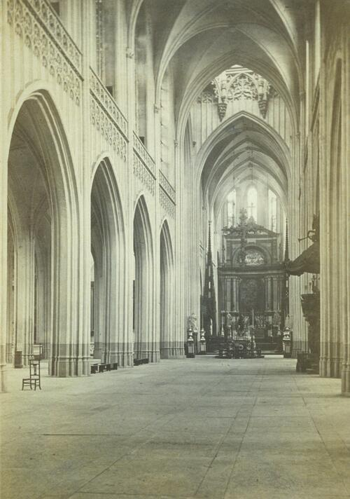 Interior of Cathedral, Antwerp.