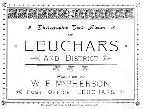 Photographic view album of Leuchars and District