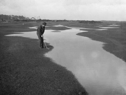 Flooding, Old Course, St Andrews