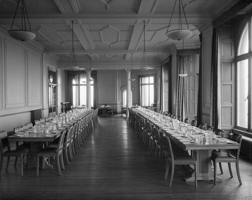 Dining Room, Hamilton Hall.
