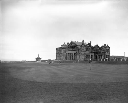 18th green, St Andrews.