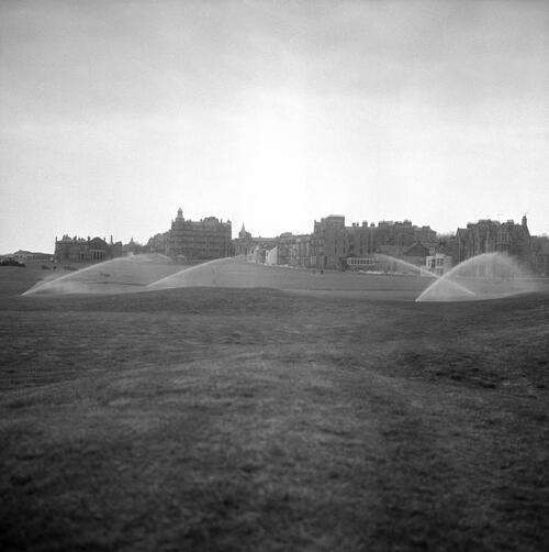 Old Course watering, St Andrews.
