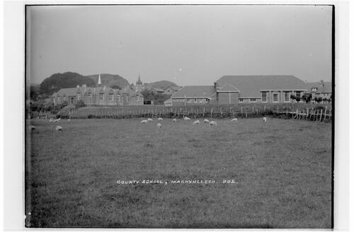 County School, Machynlleth.