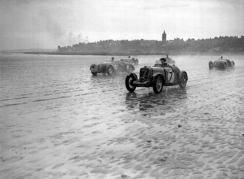 Car Race, West Sands, St Andrews