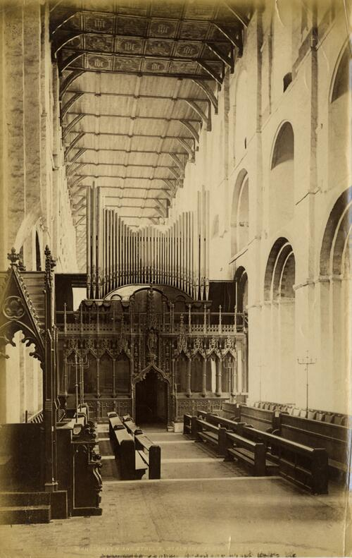 Screen & Stalls,St Albans Abbey.