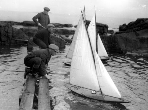 Model Yachting at Cellardyke
