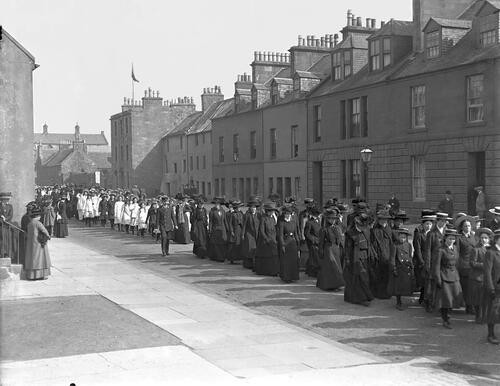 Procession, North Street.