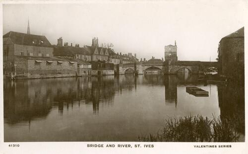 Bridge and River, St. Ives.