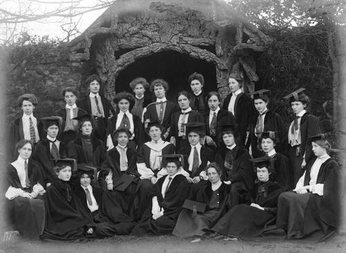 University Hall Students, 1902.