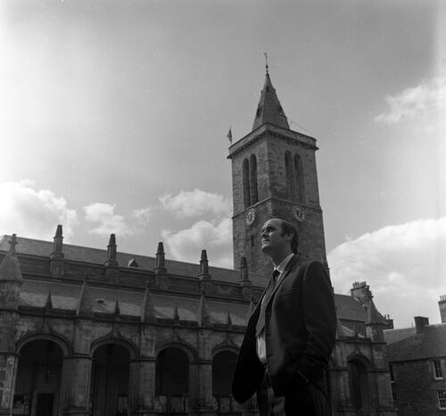 John Cleese, St Andrews.