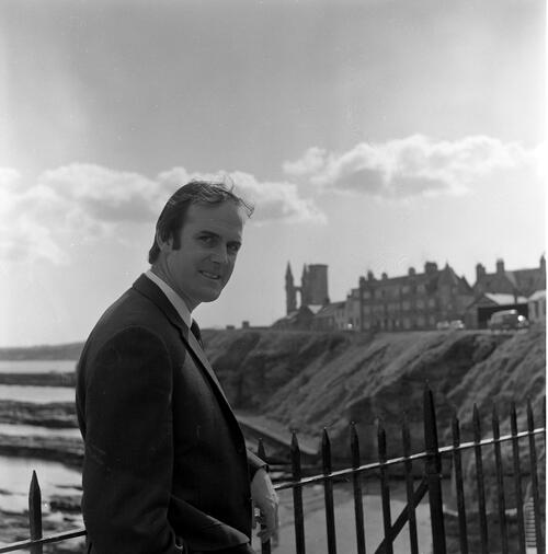 John Cleese, St Andrews Castle.