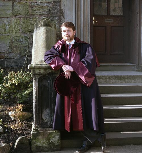 Donald Findlay, Rector.