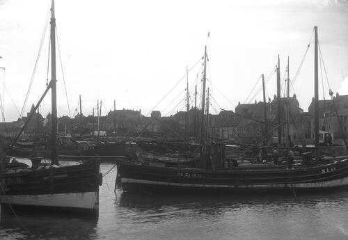 The Harbour from E, St Monance.