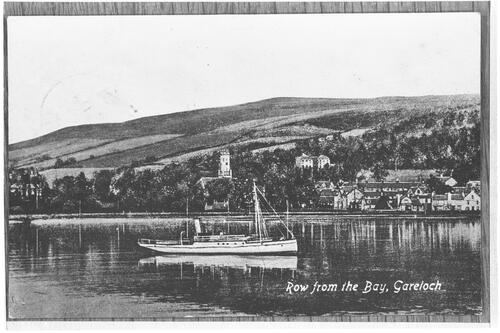 Row from the Bay, Gareloch.