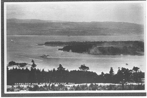 Gareloch and Firth of Clyde, Rhu.