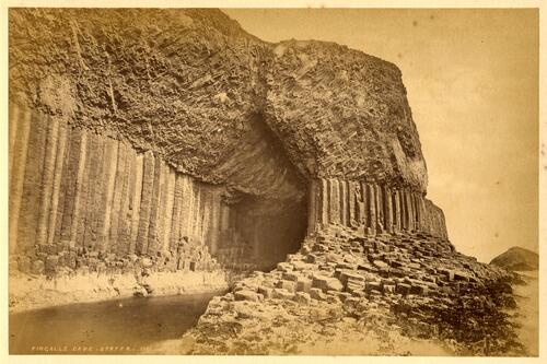 Fingal's Cave, Staffa.