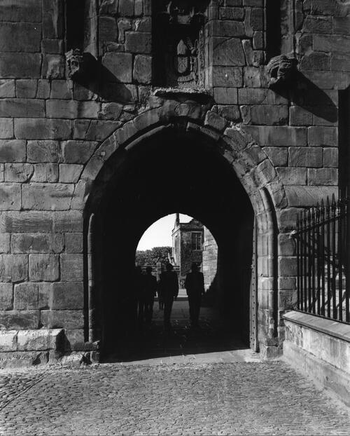 Entrance, North St, St Andrews.