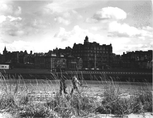 St Andrews from the West Sands.