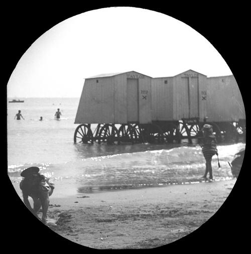 Bathing machines, Ramsgate.