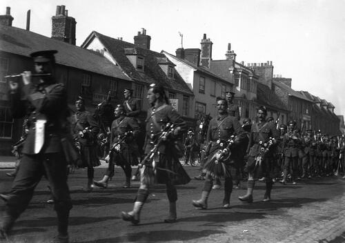 Regiment in Thame.