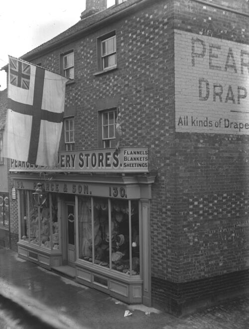 Pearce's Drapery Stores, Thame.